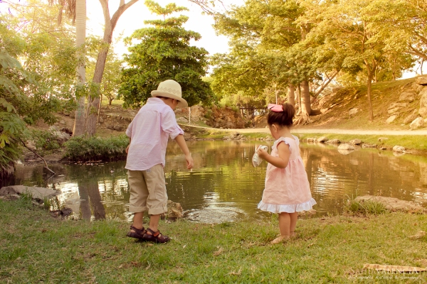 Sesión de Primos en Mérida Yucatán Parque Hundido