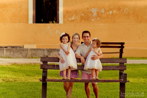 Juan Pablo Diaz - Amber Hickson y Familia en Mérida