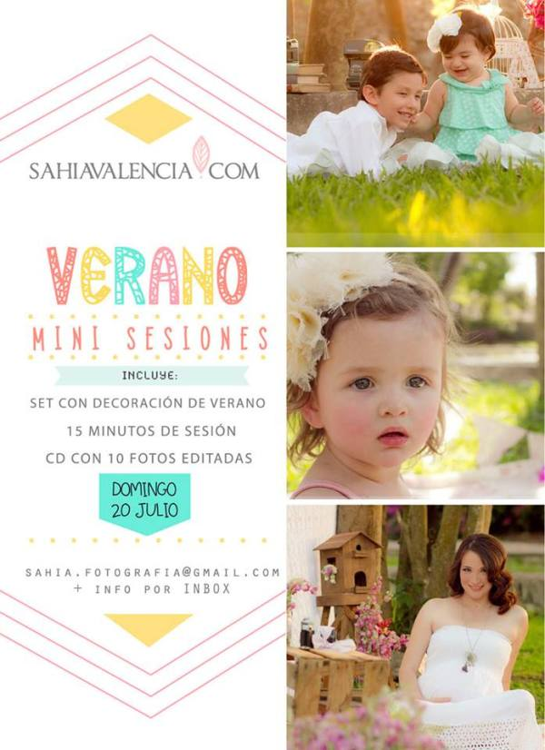 Mini Sesiones Verano en Mérida